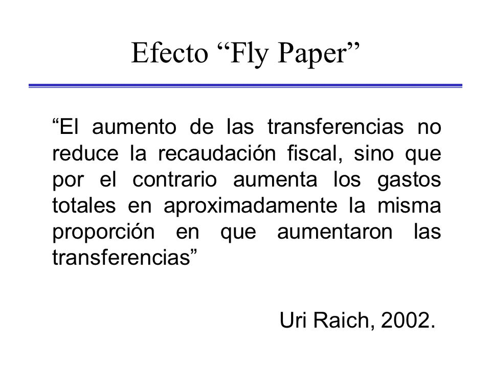 Efecto Fly Paper