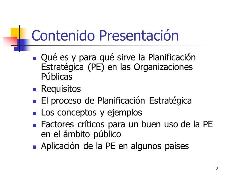 Contenido Presentación