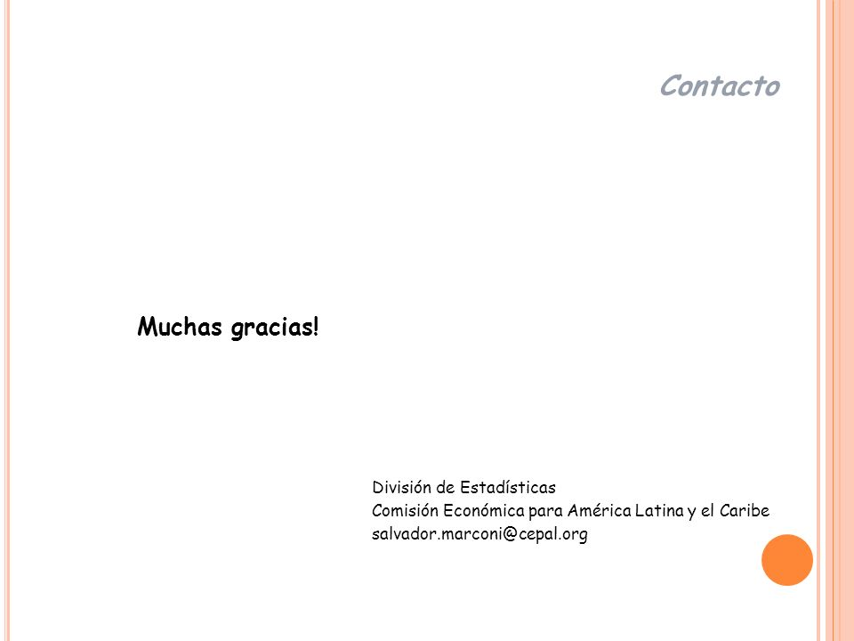 Contacto Muchas gracias!