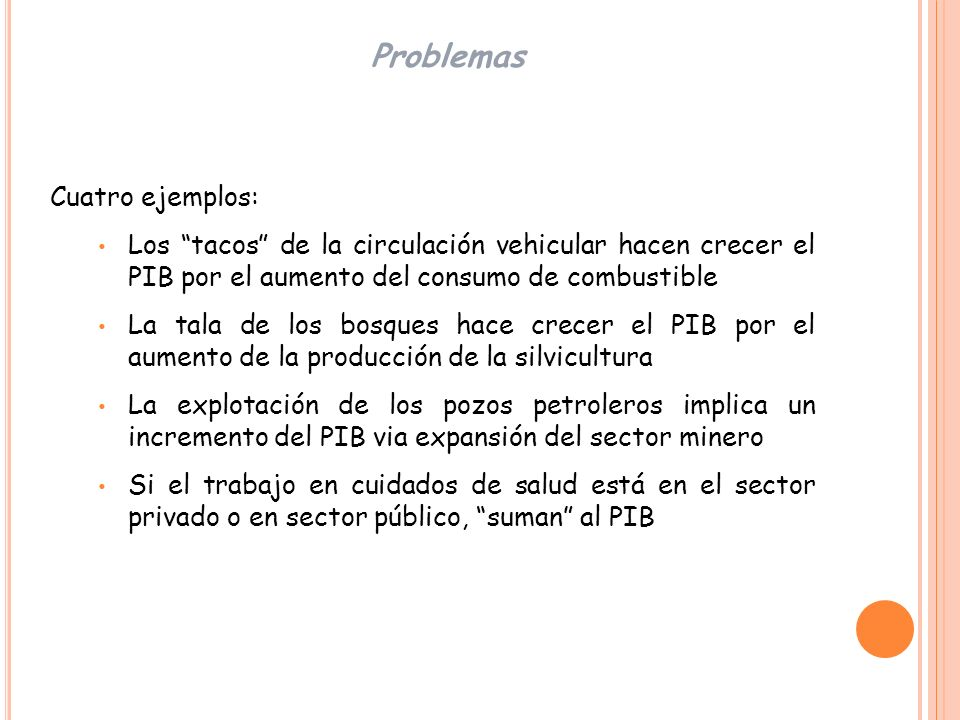 Problemas Cuatro ejemplos: