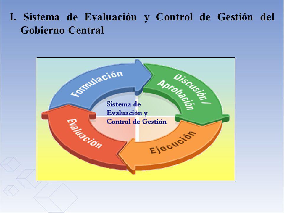 I. Sistema de Evaluación y Control de Gestión del Gobierno Central