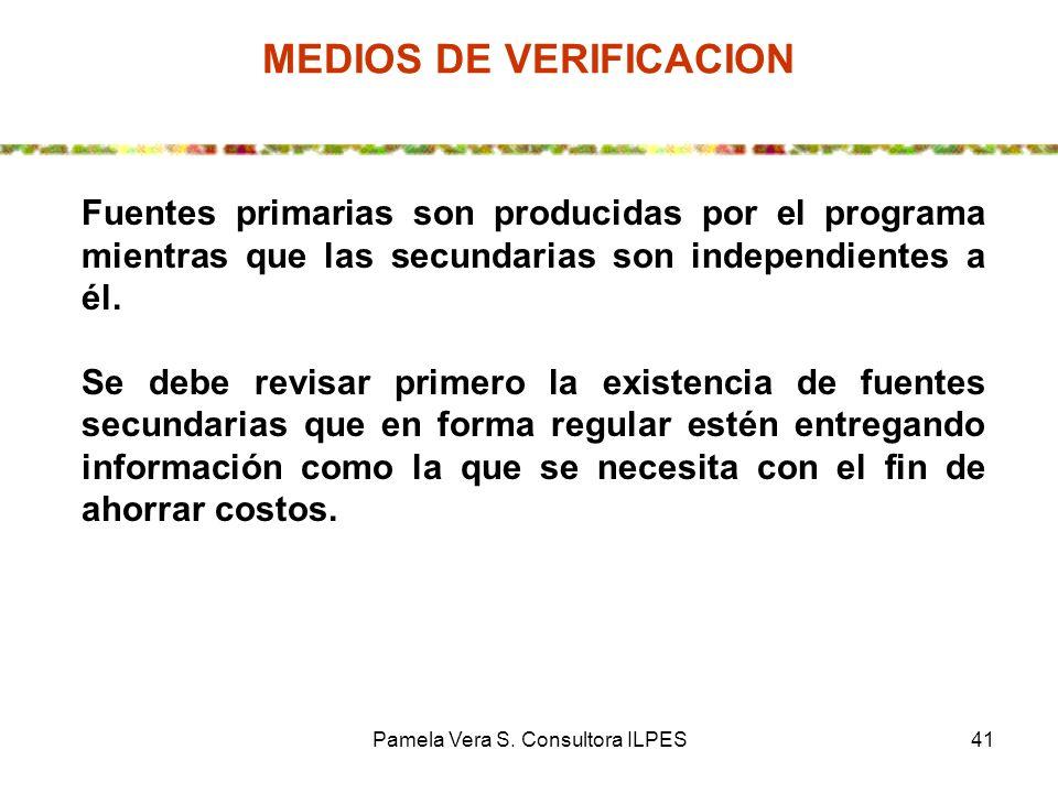 MEDIOS DE VERIFICACION