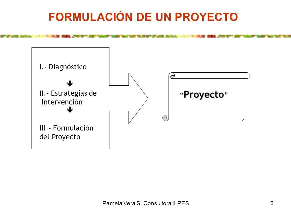 FORMULACIÓN DE UN PROYECTO