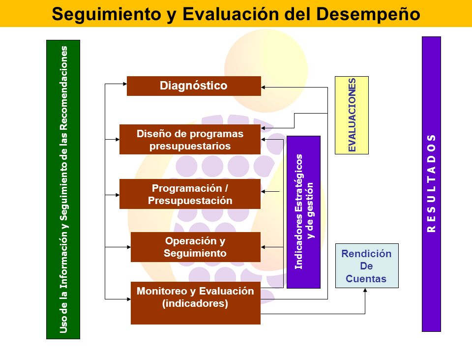 Seguimiento y Evaluación del Desempeño