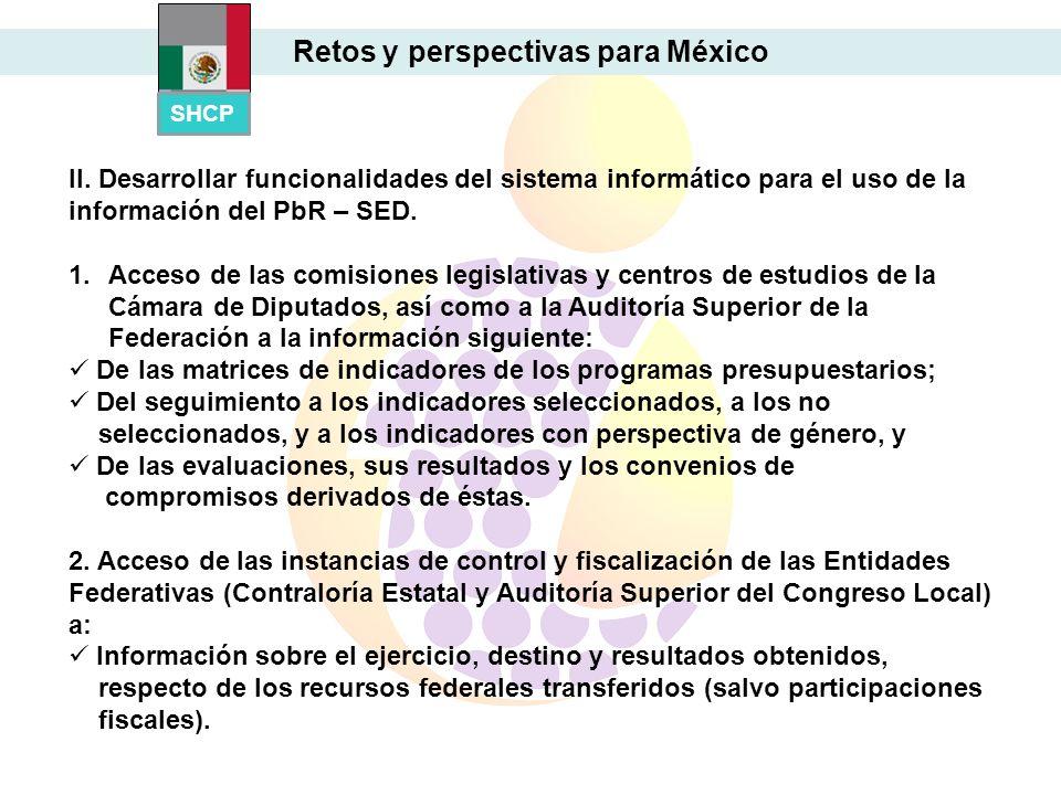 Retos y perspectivas para México