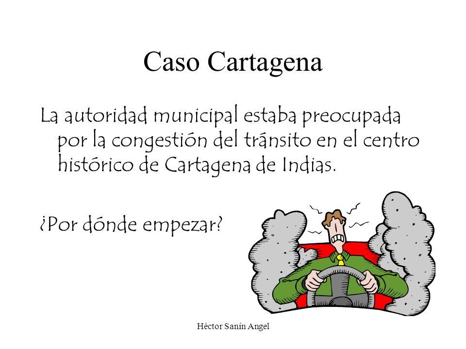 Caso Cartagena La autoridad municipal estaba preocupada por la congestión del tránsito en el centro histórico de Cartagena de Indias.