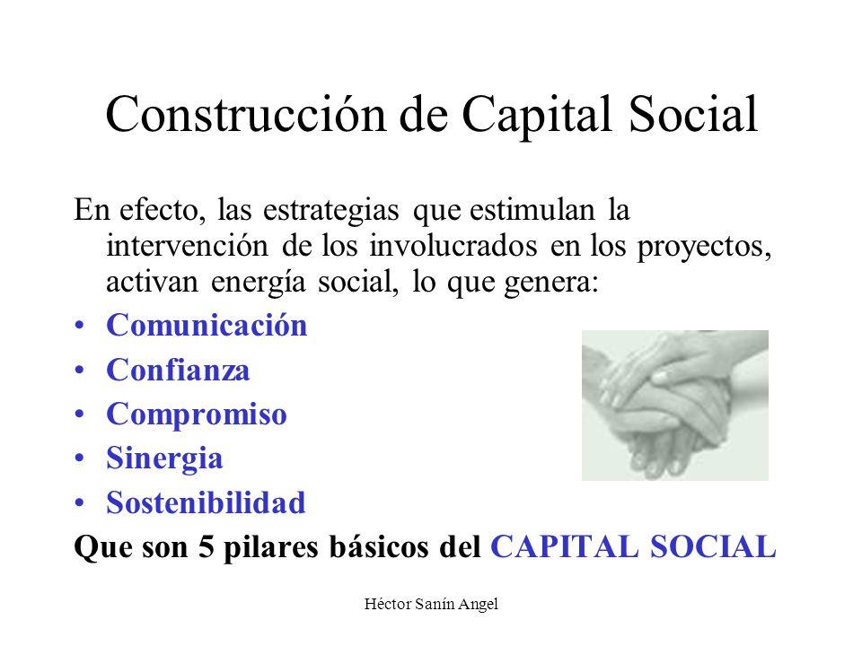 Construcción de Capital Social