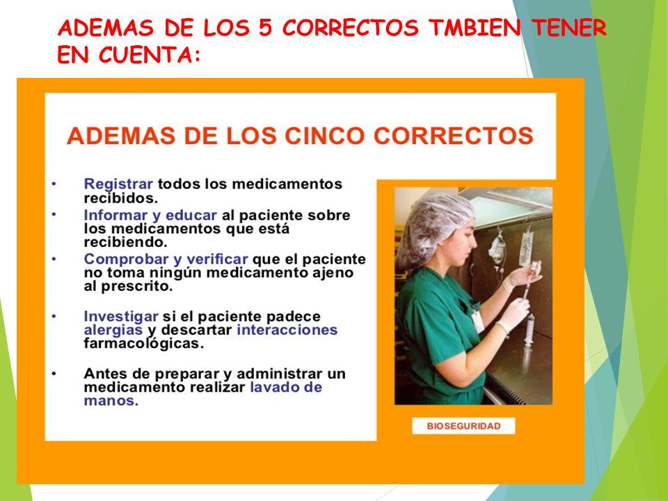 79 Los 5 Correctos De Enfermeria