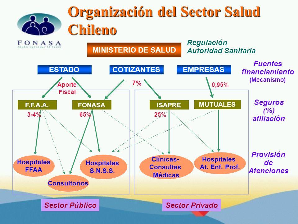 Organización del Sector Salud Chileno