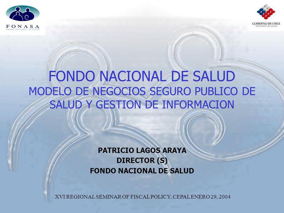 PATRICIO LAGOS ARAYA DIRECTOR (S) FONDO NACIONAL DE SALUD