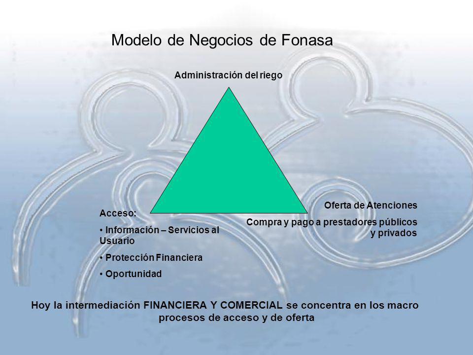 Modelo de Negocios de Fonasa