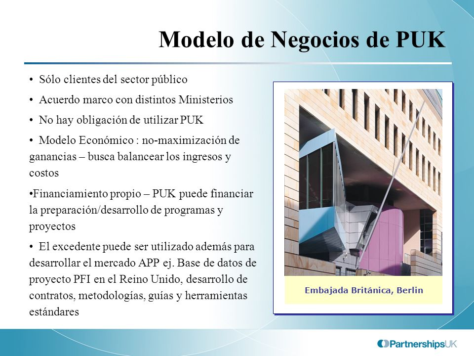 Modelo de Negocios de PUK