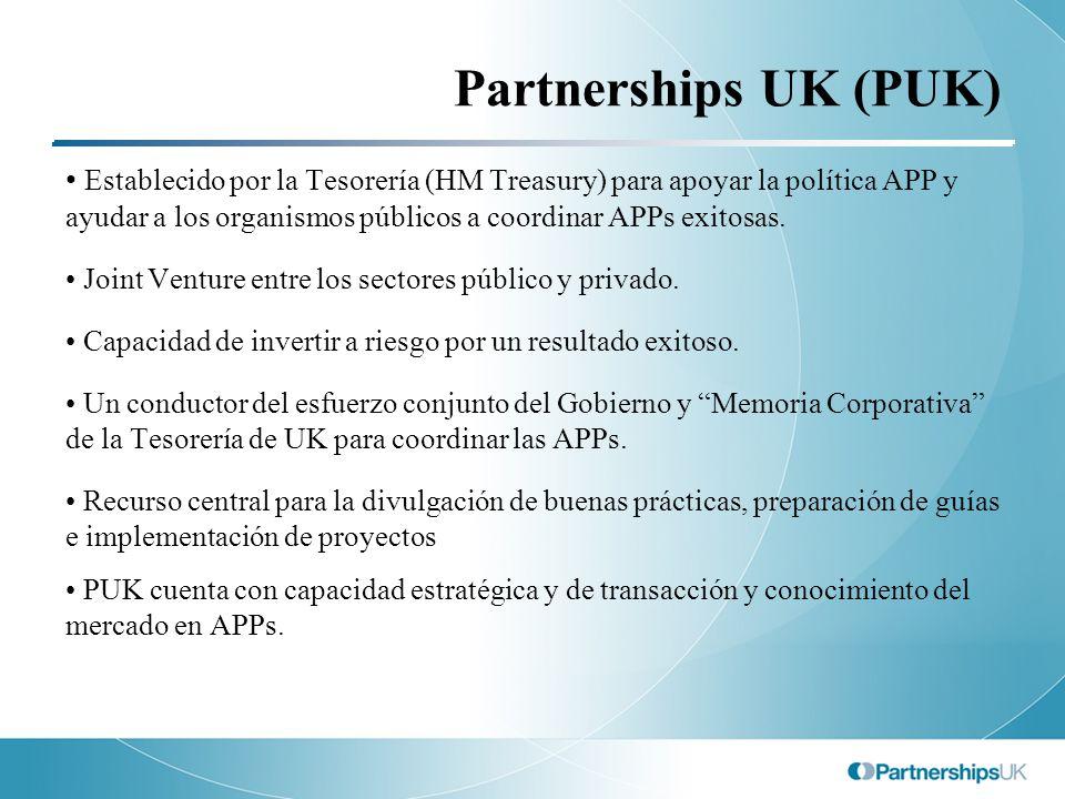 Partnerships UK (PUK)