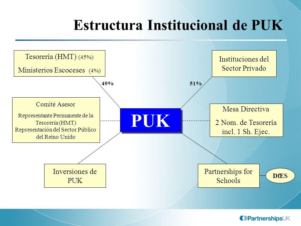 Estructura Institucional de PUK