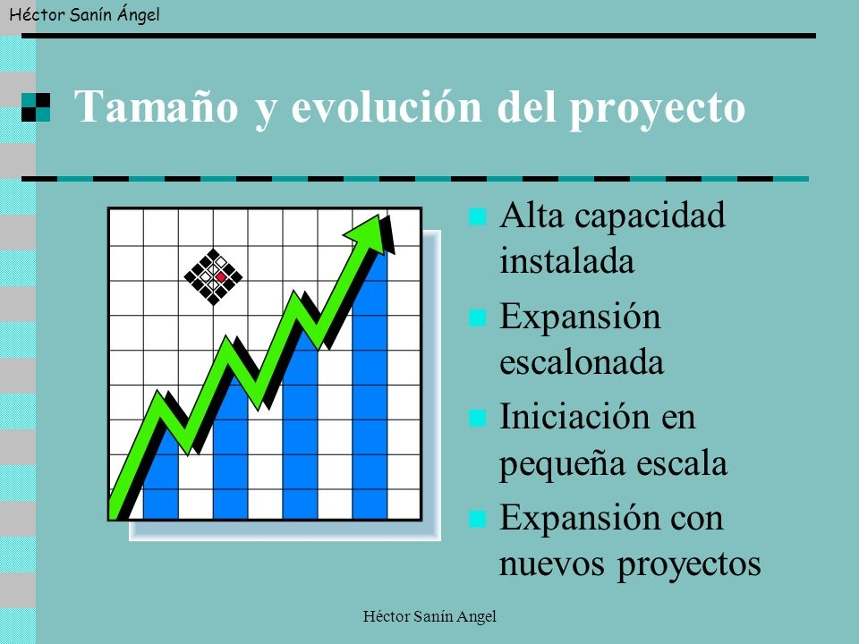 Tamaño y evolución del proyecto