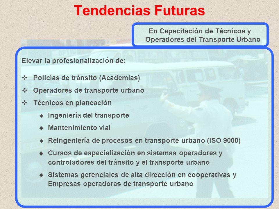 En Capacitación de Técnicos y Operadores del Transporte Urbano