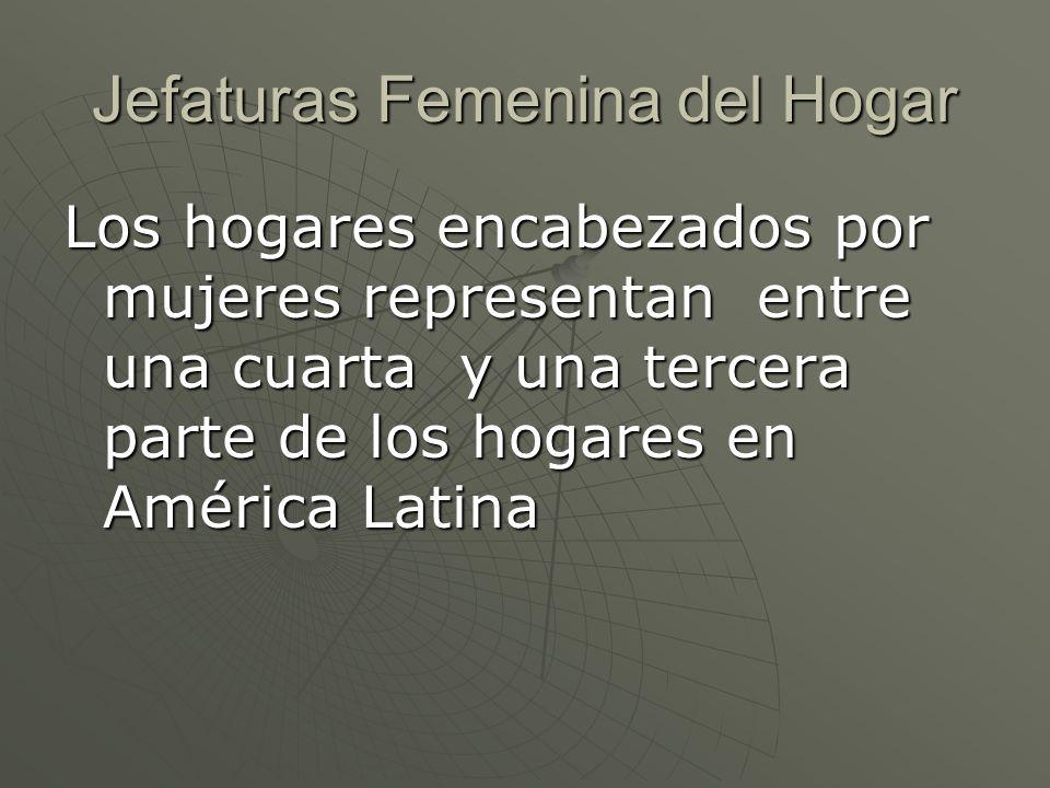 Jefaturas Femenina del Hogar