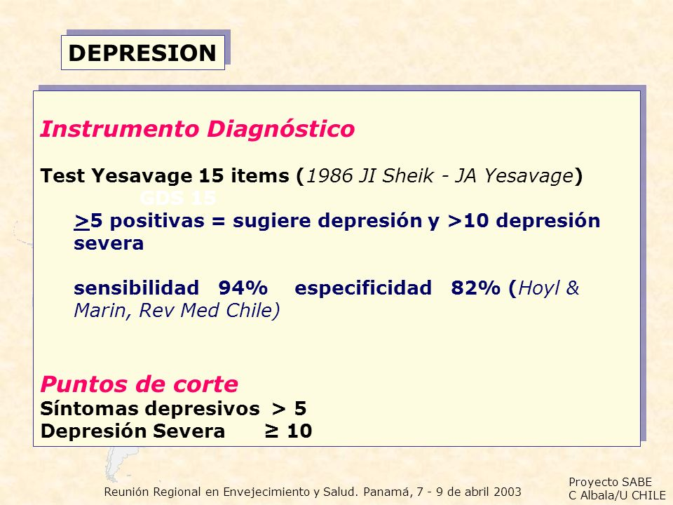 Instrumento Diagnóstico