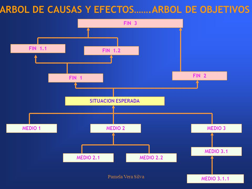 ARBOL DE CAUSAS Y EFECTOS…….ARBOL DE OBJETIVOS