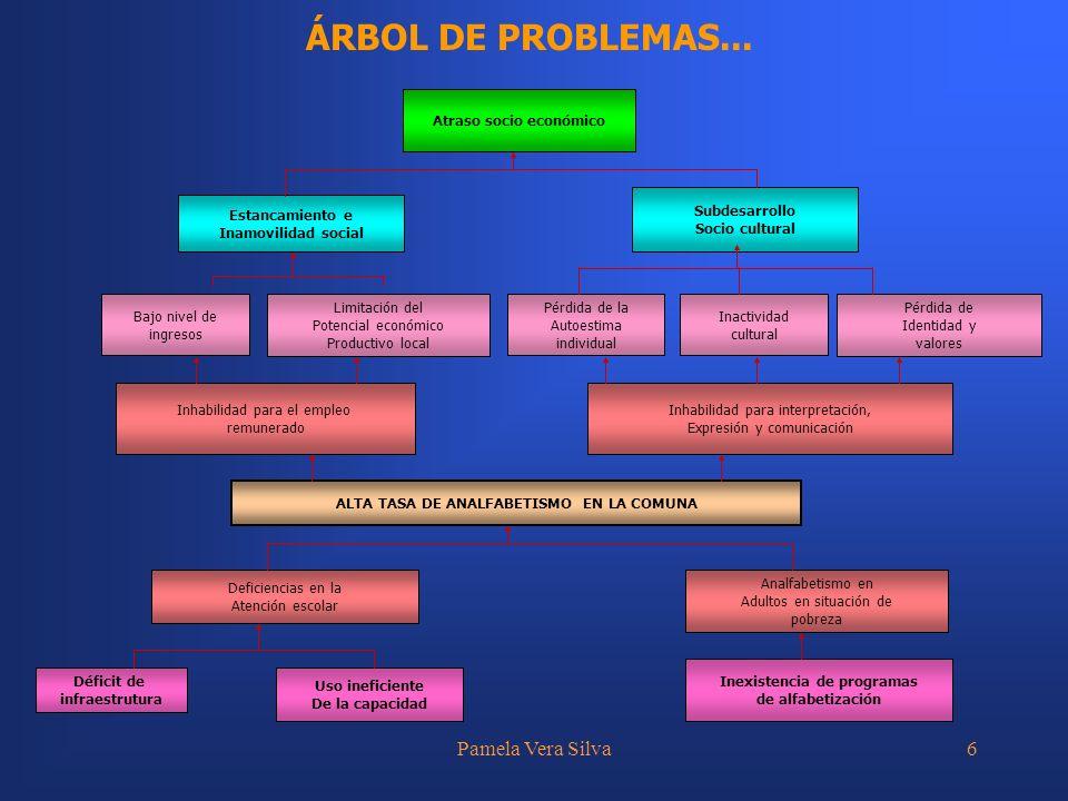 ÁRBOL DE PROBLEMAS... Pamela Vera Silva Inhabilidad para el empleo