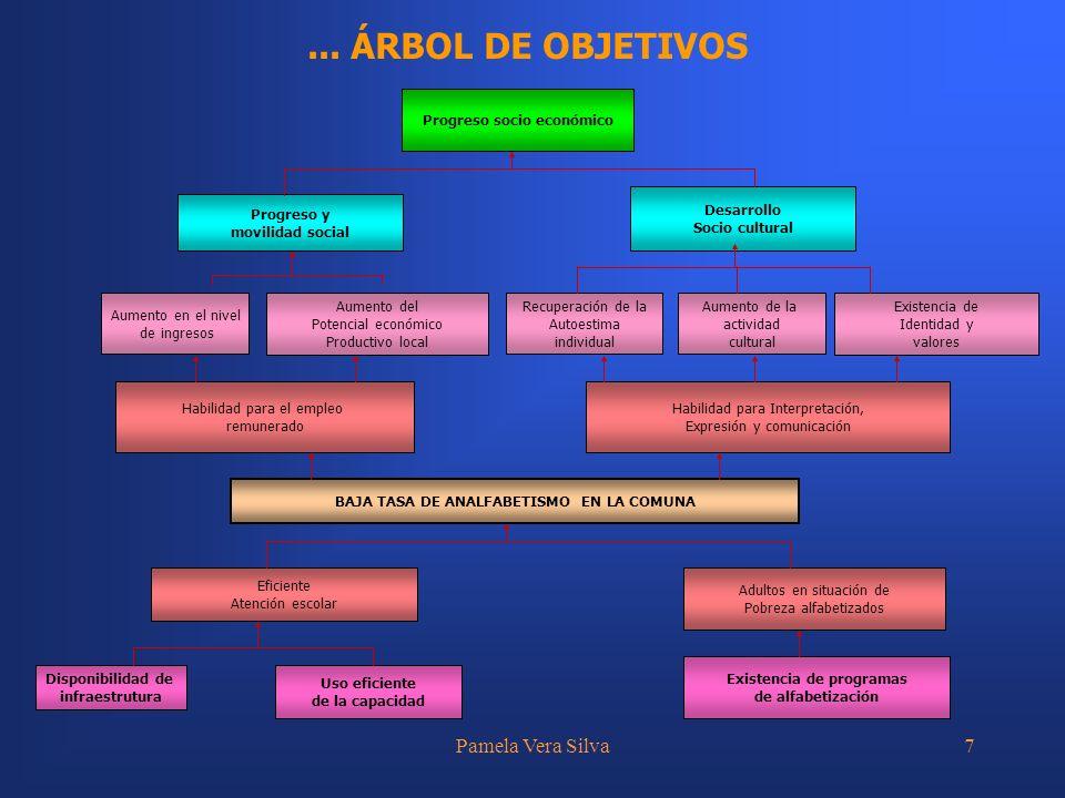 ... ÁRBOL DE OBJETIVOS Pamela Vera Silva Habilidad para el empleo
