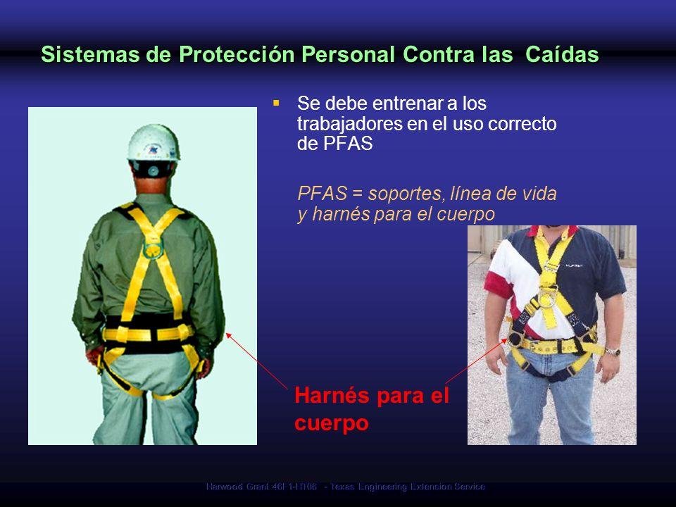 Sistemas de Protección Personal Contra las Caídas