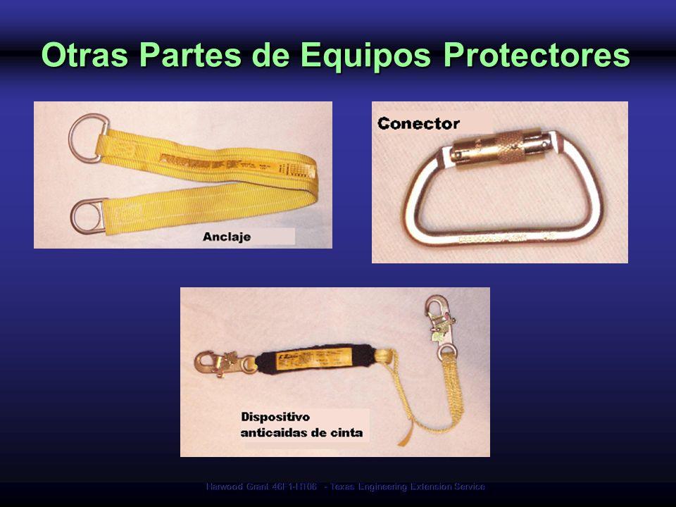 Otras Partes de Equipos Protectores