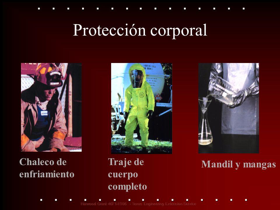 Protección corporal Chaleco de enfriamiento Traje de cuerpo completo