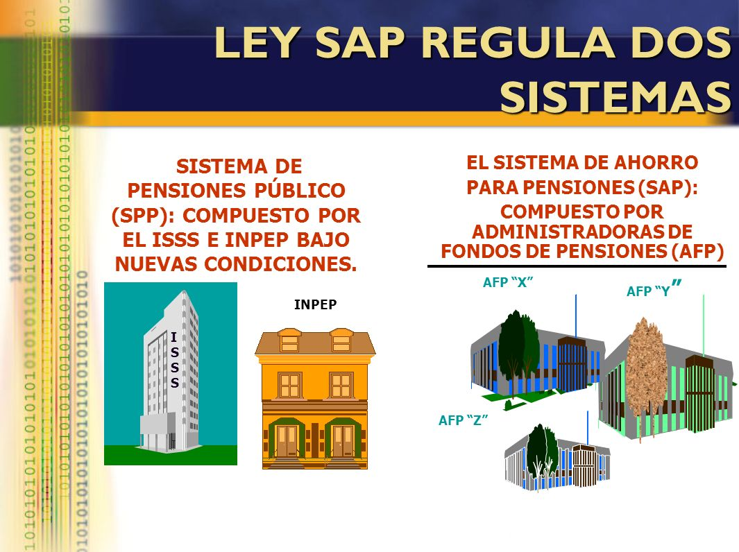 LEY SAP REGULA DOS SISTEMAS