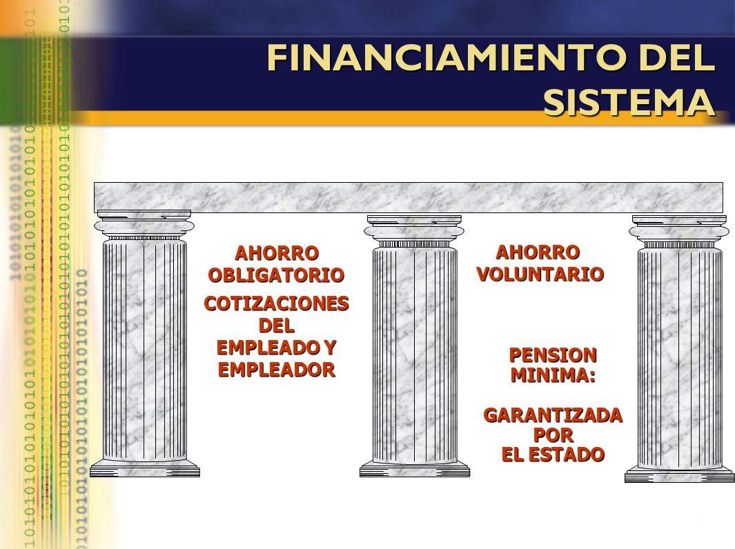 FINANCIAMIENTO DEL SISTEMA