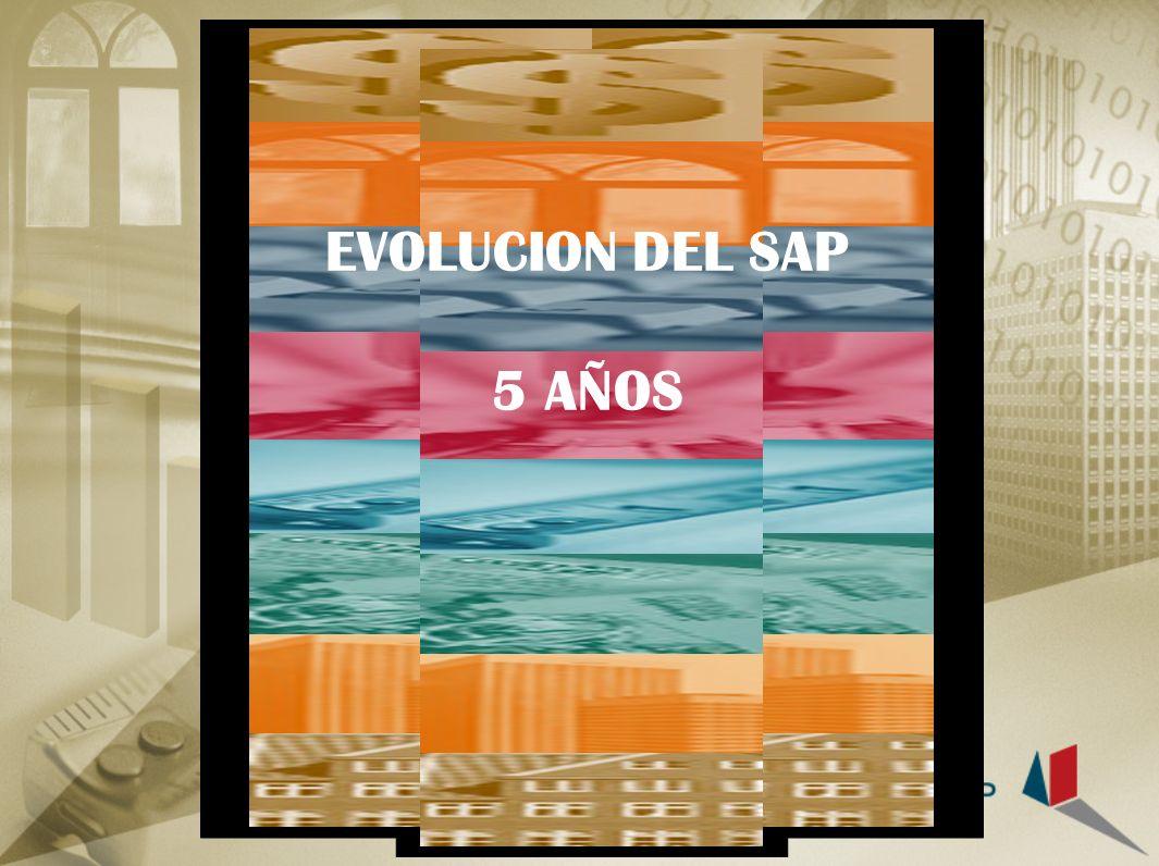 EVOLUCION DEL SAP 5 AÑOS