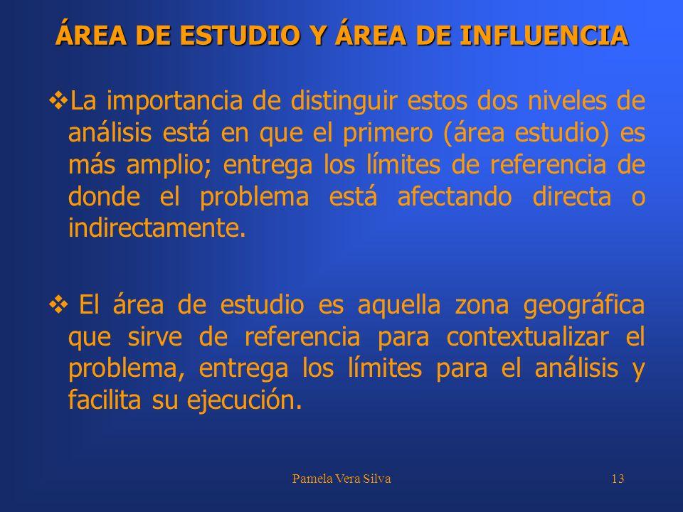 ÁREA DE ESTUDIO Y ÁREA DE INFLUENCIA