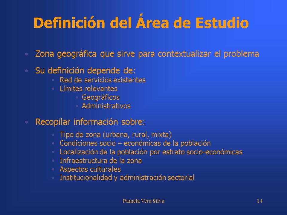 Definición del Área de Estudio