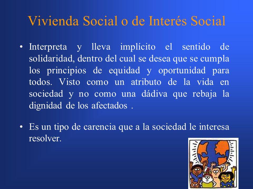 Vivienda Social o de Interés Social