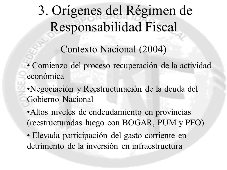 3. Orígenes del Régimen de Responsabilidad Fiscal