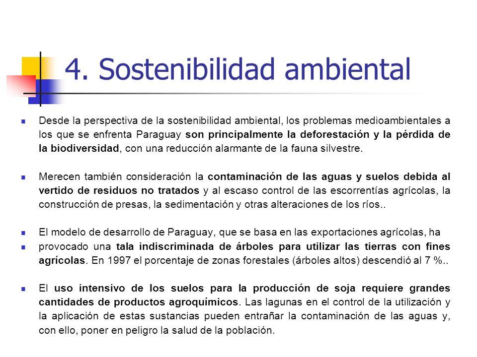 4. Sostenibilidad ambiental