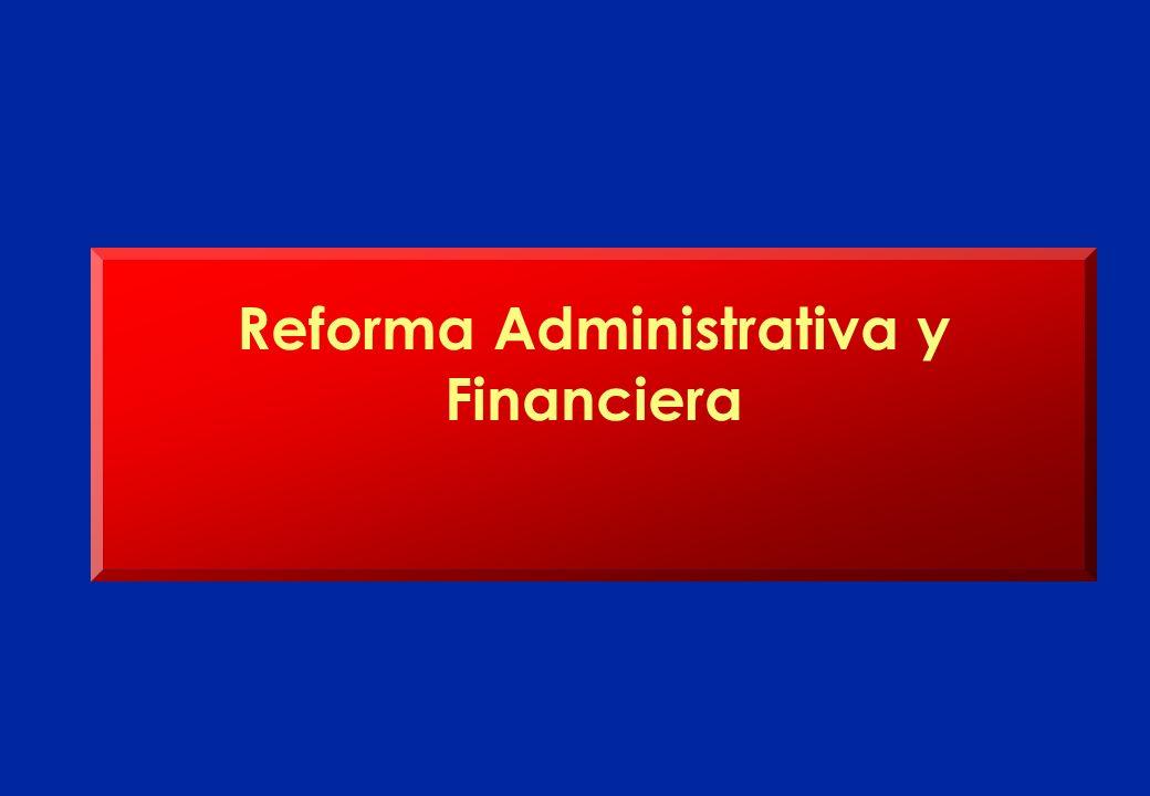 Reforma Administrativa y Financiera