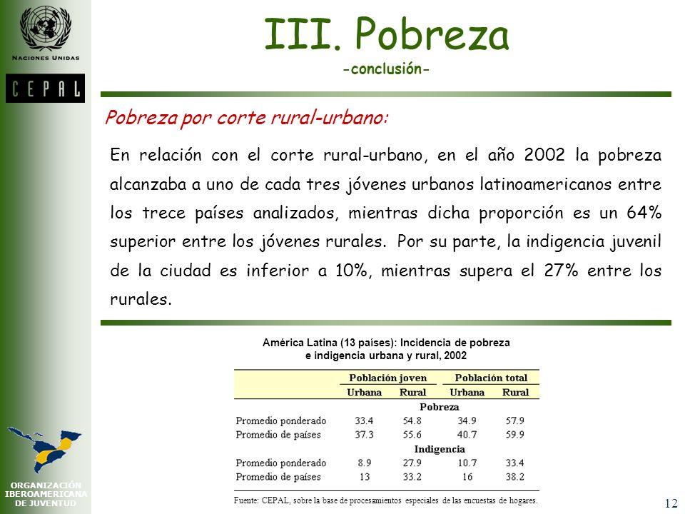 III. Pobreza -conclusión-