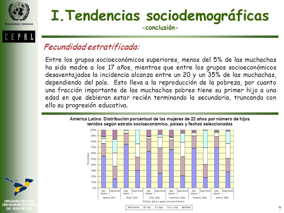 I.Tendencias sociodemográficas -conclusión-