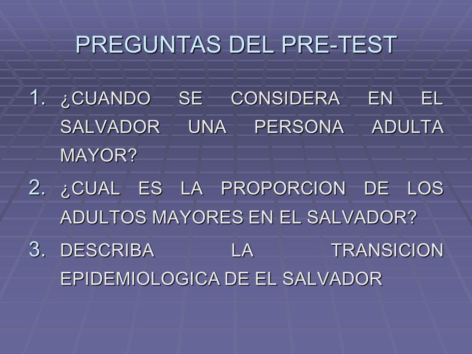 PREGUNTAS DEL PRE-TEST