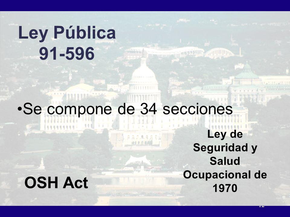 Ley de Seguridad y Salud Ocupacional de