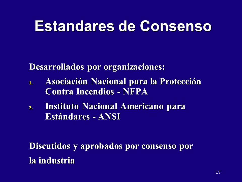 Estandares de Consenso
