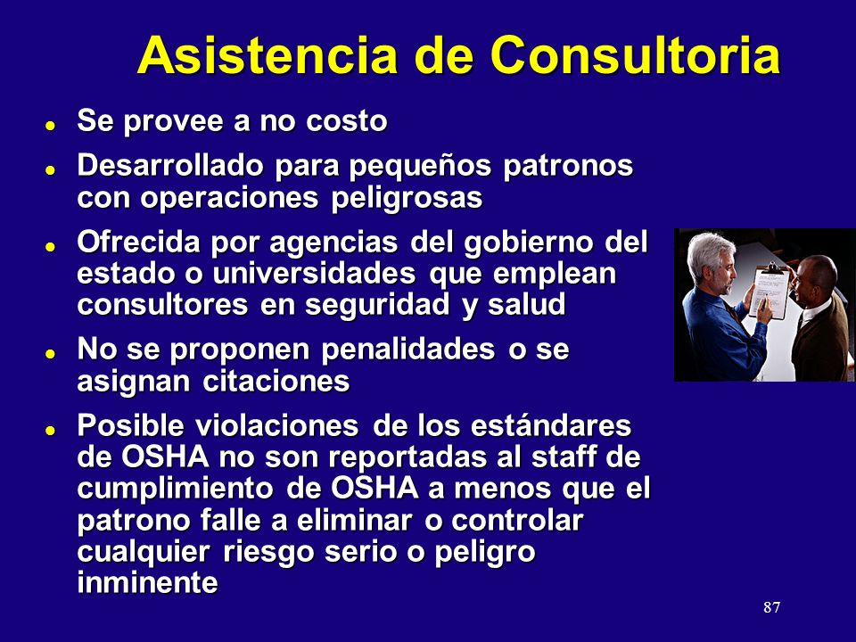 Asistencia de Consultoria