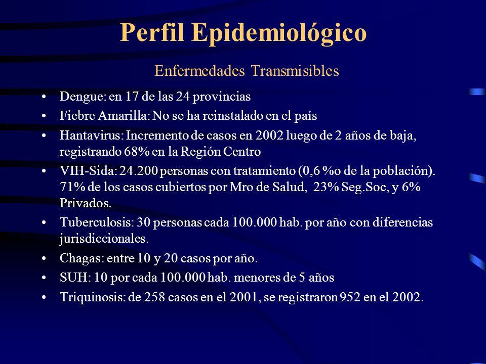 Perfil Epidemiológico Enfermedades Transmisibles