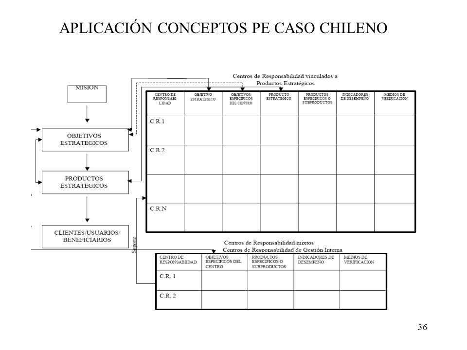 APLICACIÓN CONCEPTOS PE CASO CHILENO