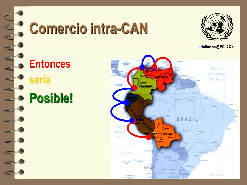 Comercio intra-CAN Entonces sería Posible!