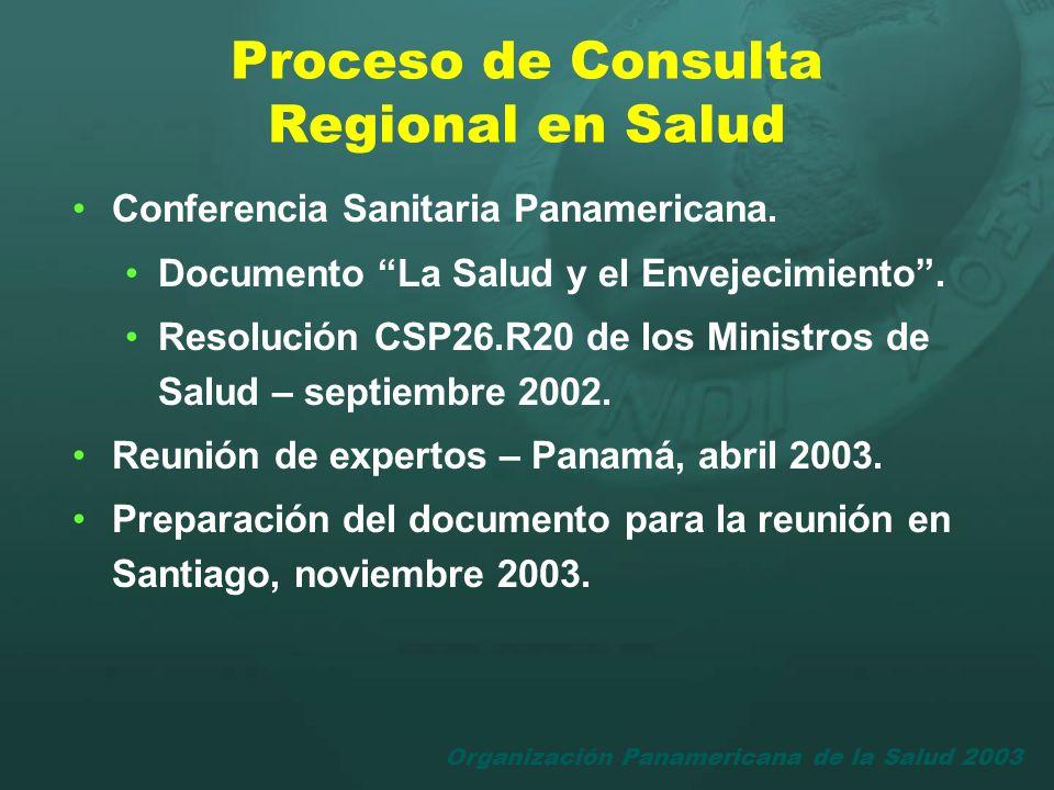 Proceso de Consulta Regional en Salud
