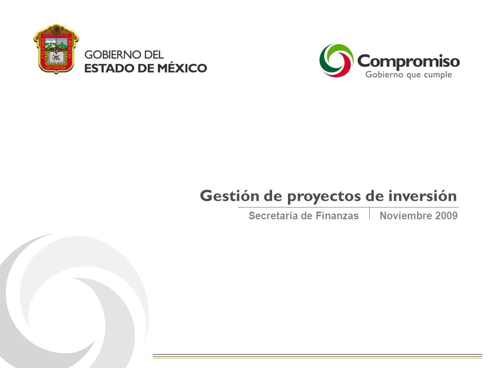 Gestión de proyectos de inversión