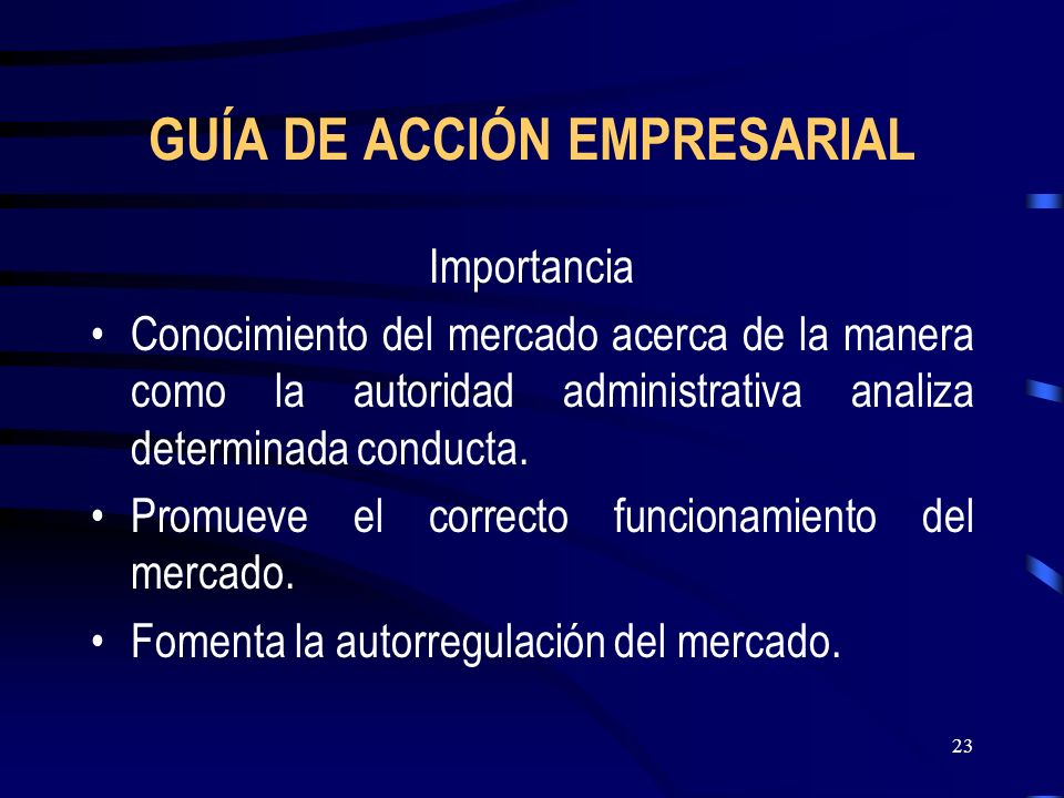 GUÍA DE ACCIÓN EMPRESARIAL
