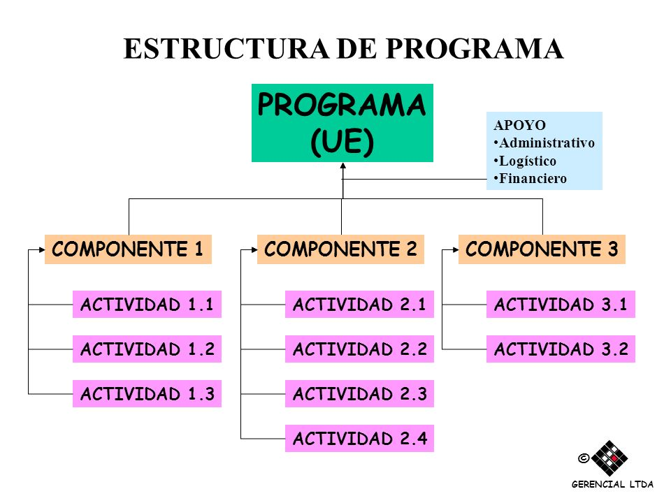 ESTRUCTURA DE PROGRAMA